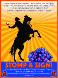Poster for Author Carew Papritz